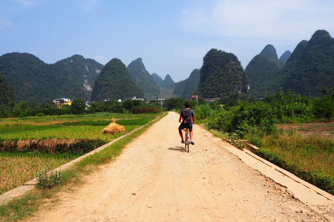 Wycieczka rowerowa w Yangshuo