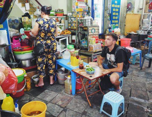 Street food. Wietnam.