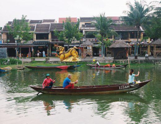 Hoi An wycieczka po rzece.