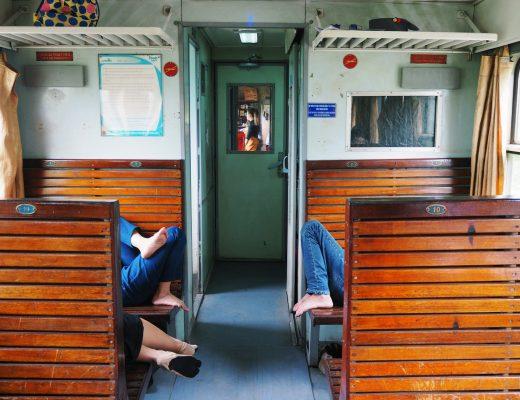 Wietnam pociągi