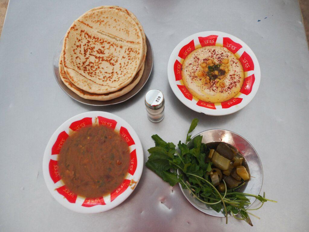 Jedzenie w Jordanii